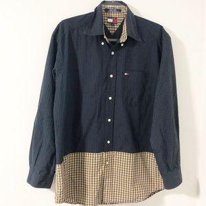 VTG 90's Tommy Hilfiger Plaid Button Down Shirt